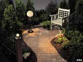 Outdoor lighting for your backyard and patio
