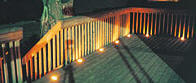 In-Deck lighting with low voltage outdoor yard lights